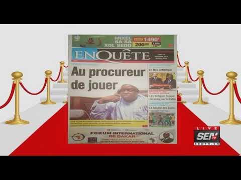 Revue des Titres de Presse avec  Ahmed Aïdara du Lundi  18