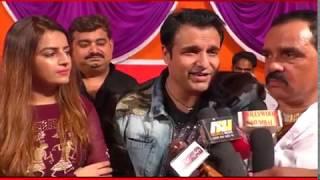 Actor Vinay Anand & Shivika Diwan Visit at Panchvati Sarvajanik Ganesh Utsav 2018