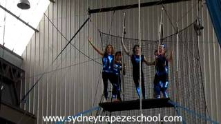 Sydney Trapeze School Birthday Fly Show