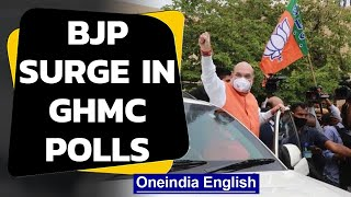 BJP surge in GHMC polls, TRS is still largest party | Oneindia News
