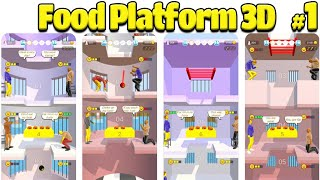 Food Platform 3D Game Complete game Review Gameplay Walkthrough iOS/Andriod New Game screenshot 1