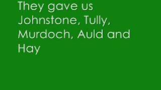 Willie Maley - Charlie & The Bhoys - With Lyrics