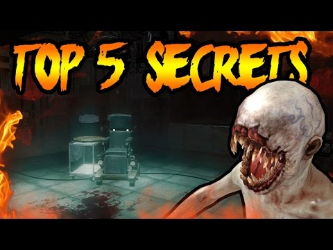 Top 5 FORGOTTEN SECRETS in KINO DER TOTEN! Black Ops Zombies TOP 5 EASTER EGGS You Didn't Know