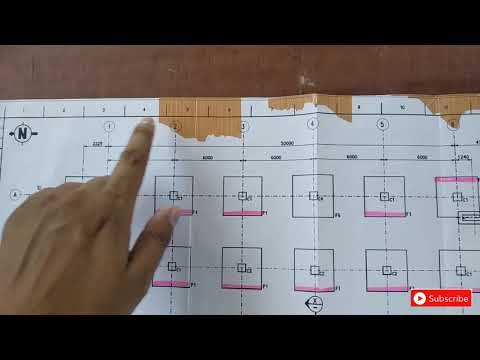 How To Read Building Foundation Plan | Basic For Fresher