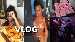 VLOG | FAMILY VACATION, HOUSE PARTY & DATE TO THE MUSUEM ft. UlaHair