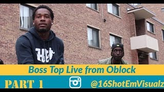 Boss Top Interview Live From OBLOCK Talks Chief Keef, 6ixNine, Jail, and life in Oblock Growing up.