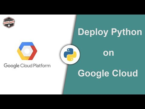 Deploy Python Code on Google Cloud Console: Setting Up python environment