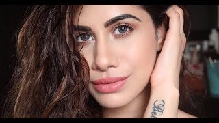 How to cover up ACNE SCARS & BLEMISHES   Full Coverage Makeup   Malvika Sitlani