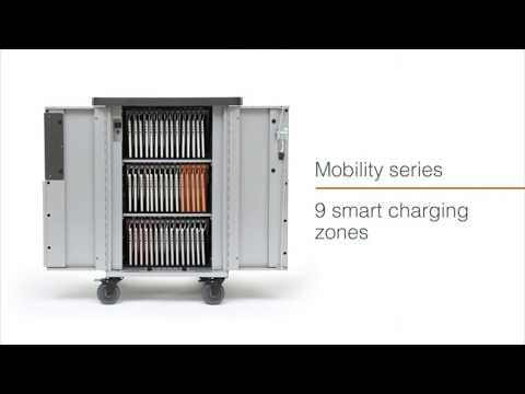 Bretford | Mobility® series - secure, charge and transport cart for Apple devices