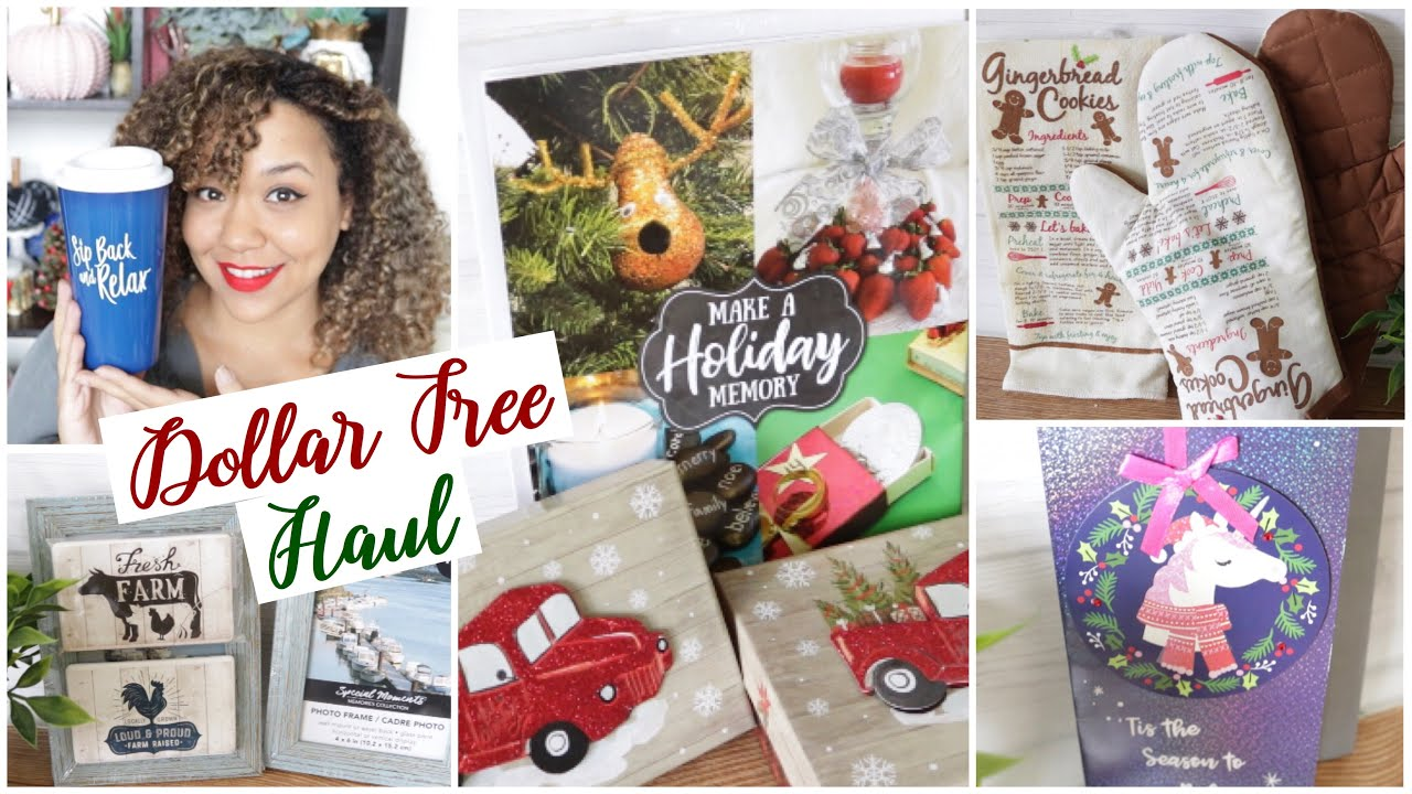 Dollar Tree Haul Christmas Red Truck And Farmhouse Youtube