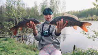 Рыбалка на КАРПА и АМУРА Жара БОЙЛЫ ЛОВ и КЛЁВ 234