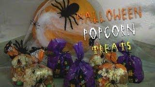Halloween Popcorn Treats!!!!!!!!!
