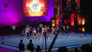 First Runner Up - TEAM THAILAND - Day 1 & 2 | 7th Cheerleading World Championship - Bangkok Thailand