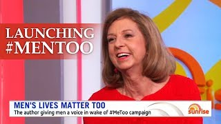 Bettina Arndt makes waves with her book #MenToo on morning television