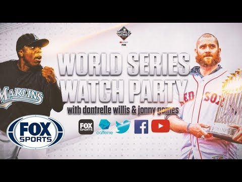 World Series Watch Party with Dontrelle Willis & Jonny Gomes | FOX SPORTS