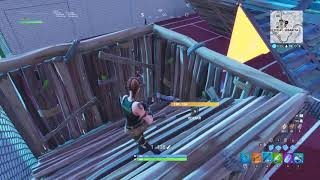 Having a good time with a BOT in my favorite mode (Fortnite)