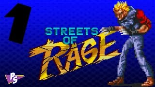 Streets of Rage- Part 1- (Poster Physics)-  Player Select(, 2017-02-23T19:14:52.000Z)