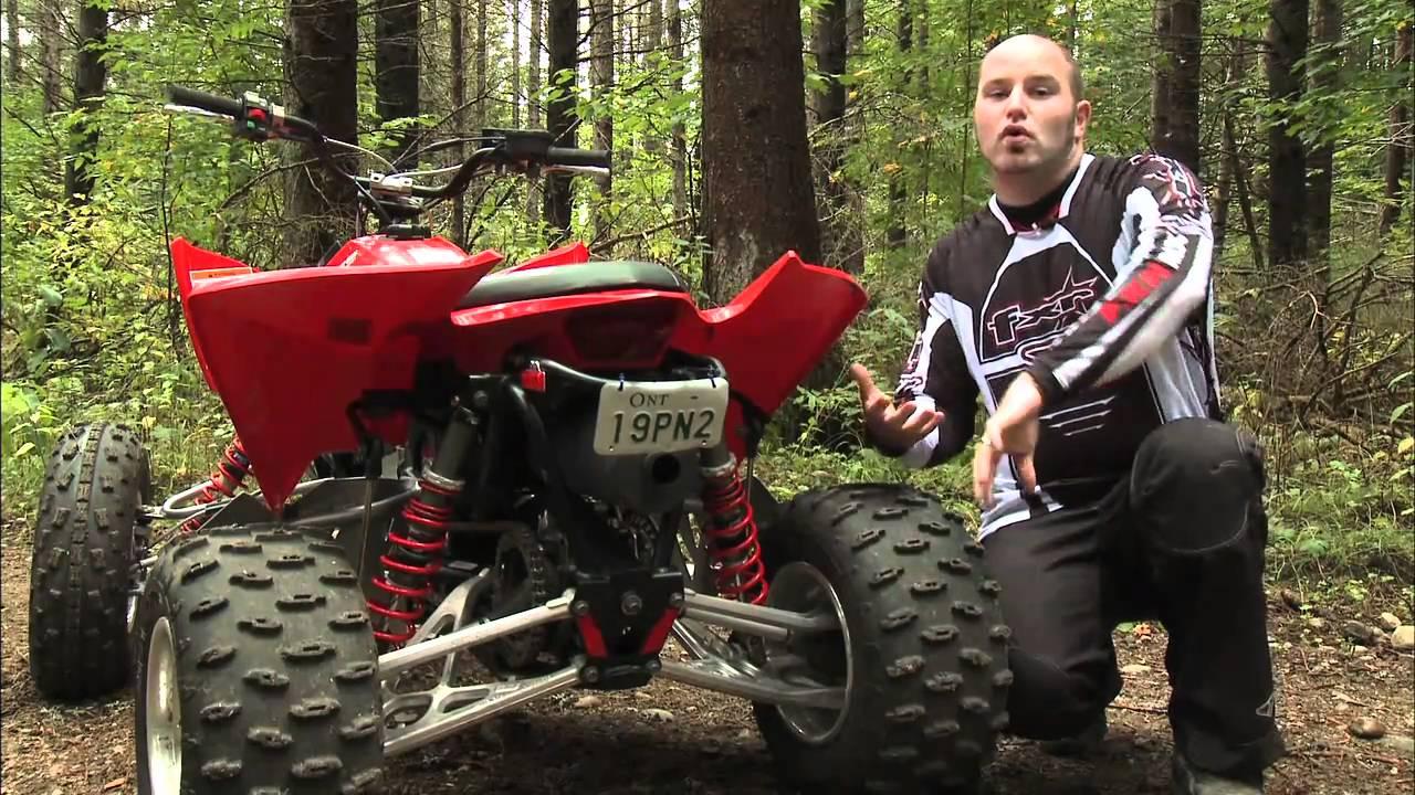 Polaris Outlaw 525 >> Dirt Trax Test Rides Polaris Outlaw 525 IRS - YouTube