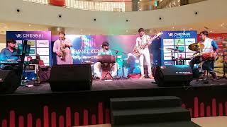 #09 SPANDA Concert at V.R.Chennai Mall | Sarvesh Karthick