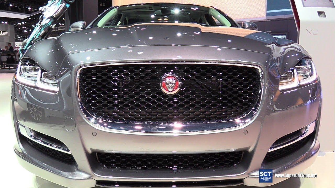 2018 Jaguar Xj Exterior And Interior Walkaround 2017 La Auto