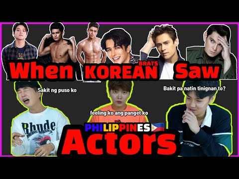 [REACT] Foreigner Reacts to Filipino Actors #69 (ENG SUB)