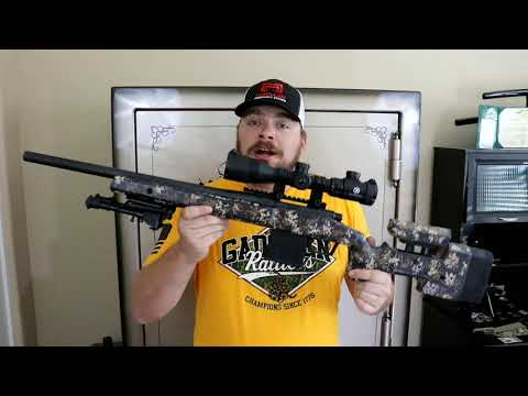 Review - The New A6 adjustable by Mcmillan Fiberglass Stocks l