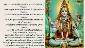 Siva Pradosham slokas & songs - YouTube