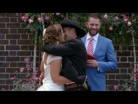 Susan and Sean's romantic wedding: Married at First Sight Australia 2017