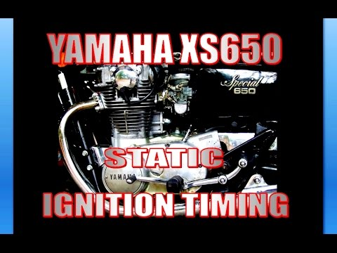 Yamaha XS650 Static Ignition timing