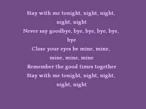 Deepside Deejays Stay with me tonight lyrics