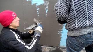 видео Системы внешней теплоизоляции и штукатурки Caparol