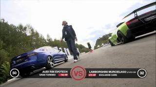 Lamborghini Murcielago Lp670-4 Sv Vs Audi Rs6 Evotech