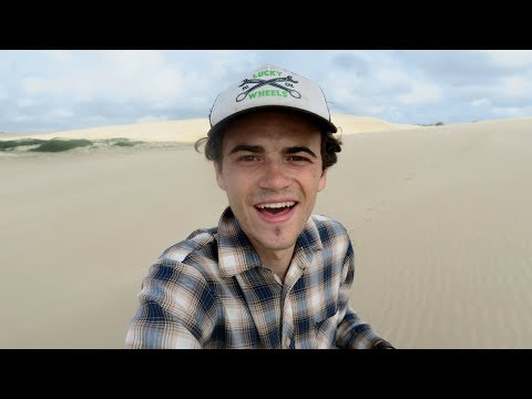 SAND DUNE Exploring, Snake & Overgrow Track | Bicycle Touring Australia [Vlog 20]