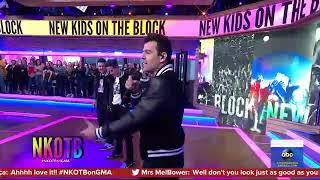 "NKOTB performs ""Boys In The Band""  in Good Morning America"