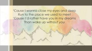 We The Kings - See You In My Dreams (Lyric Video)