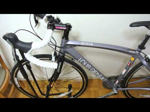 【CTR】LOUIS GARNEAUのロードバイク買った感想とか