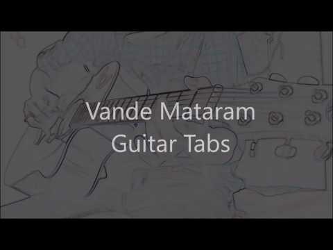 vande-mataram-guitar-tabs