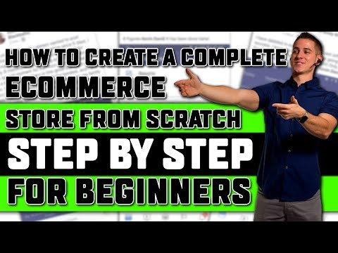 Shopify Tutorial for Beginners | How to Set Up a Profitable Shopify Store Step by Step in 2018!