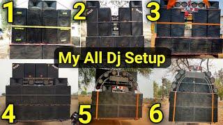 All My Dj Setup || 2017 से 2021 तक || Price....? || Dj Raja Kwd