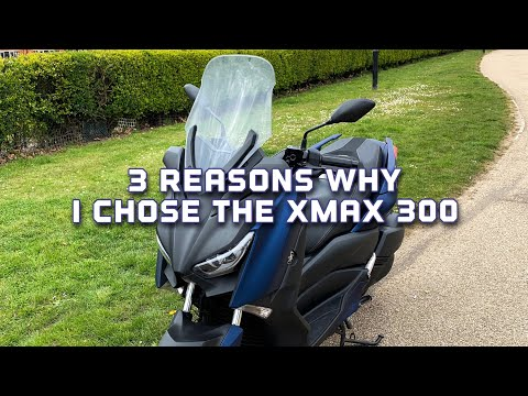 why-i-chose-the-yamaha-xmax-300-|-top-speed-attempt-|-4k