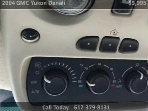 2004 GMC Yukon Denali Used Cars Minneapolis MN