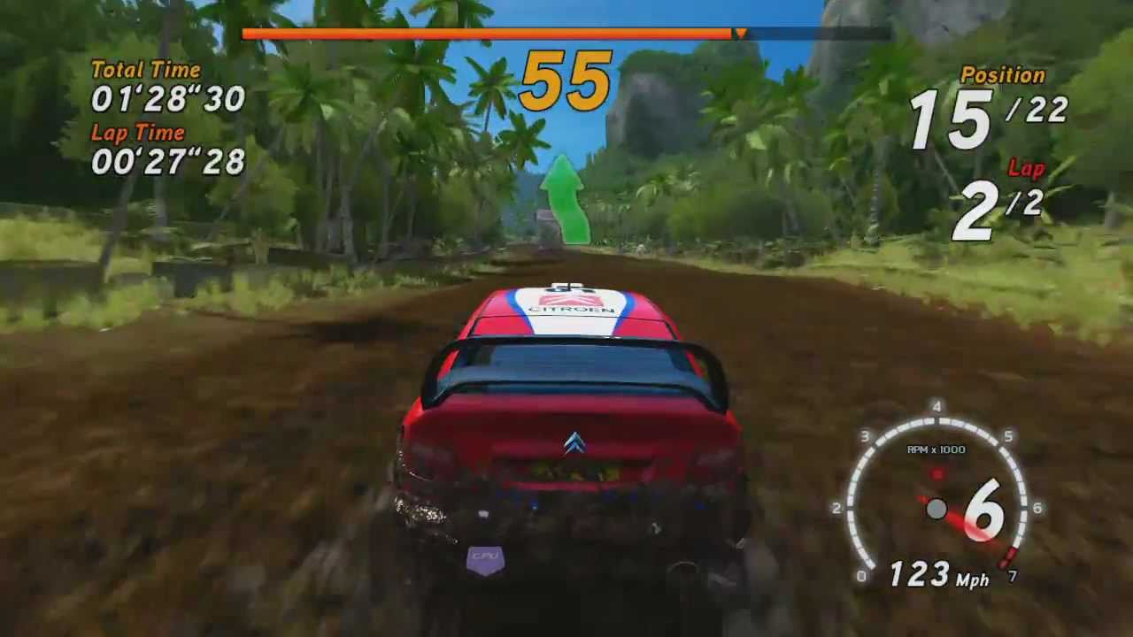 Sega Rally Arcade Online - Showroom 1/3 - Xbox360 PS3 - YouTube