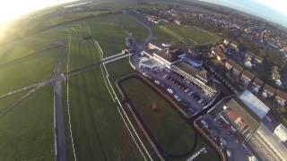 Drone flight over Stratford Racecourse - Stratlan 2014