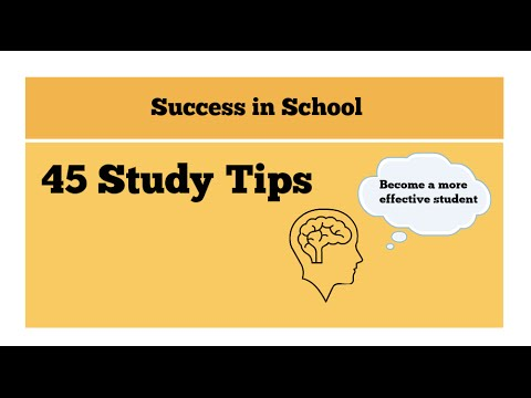 Improve your grades-45 Study tips to help you study effectively