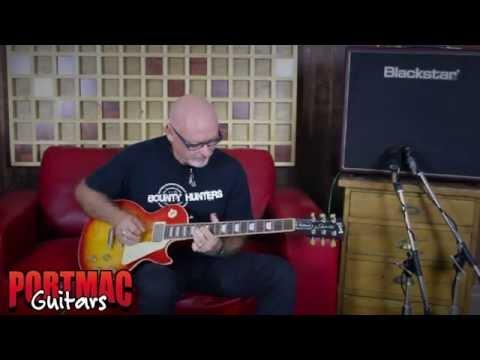 Port Mac Guitars 2015 Gibson Les Paul Traditional Demo