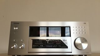 unboxing the new onkyo tx rz 810