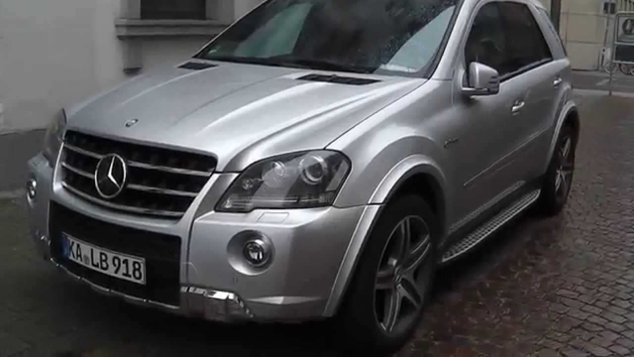 Mercedes benz ml 63 amg w164 karlsruhe youtube for Mercedes benz ml series