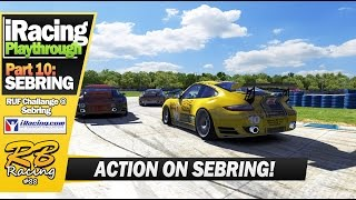 iRacing 2016 EP10: Awesome race on Sebring! (RUF Challenge @ Sebring)