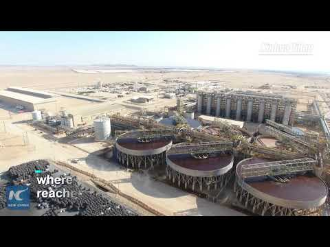 Aerial View Of China-invested Husab Uranium Mine In Namibia