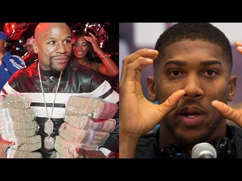 "ANTHONY JOSHUA EYES MAYWEATHER FINANCIAL STATUS OUTSIDE RING: ""RECORDS ARE ONLY THERE TO BE BROKE"""